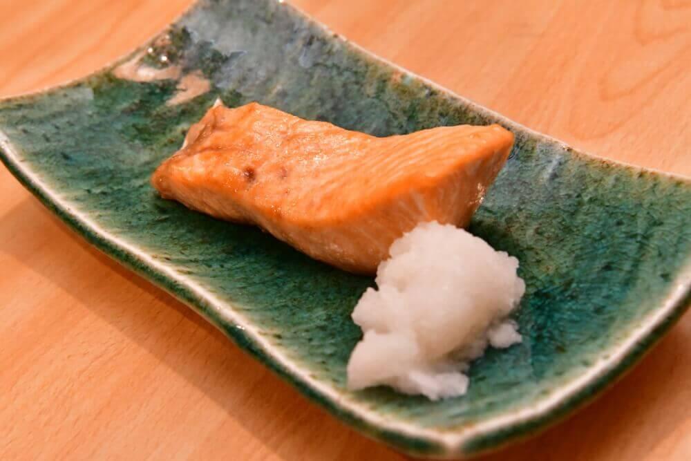 時鮭塩焼き- 札幌 居酒屋道