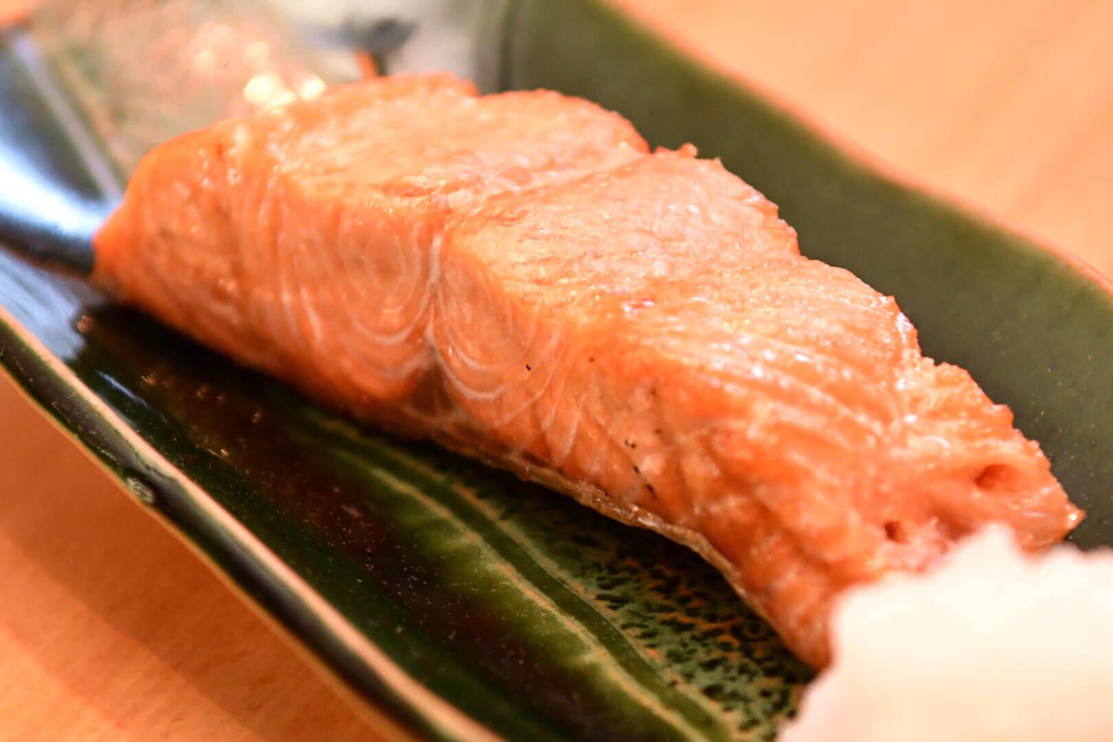 サクラマス塩焼き - 札幌 居酒屋道