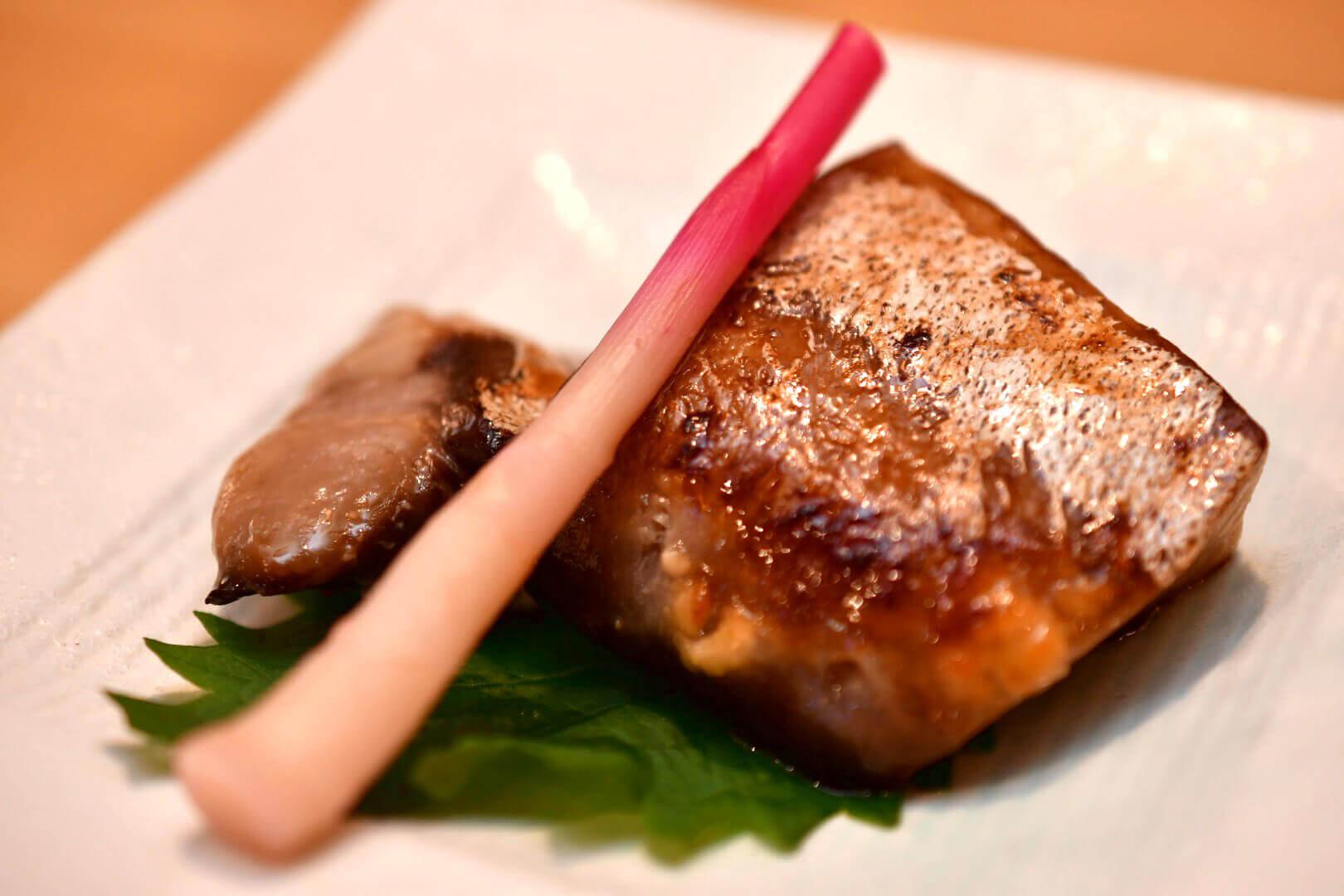 ぶり粕味噌焼き - 札幌 居酒屋道